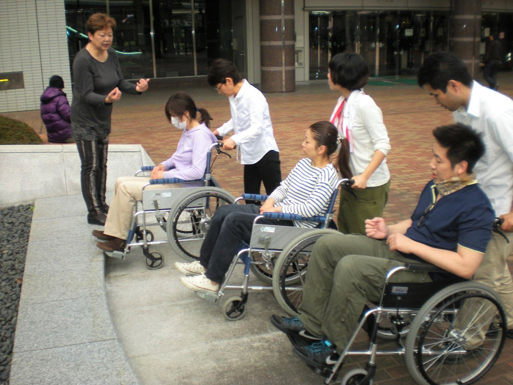 実技~車椅子介助